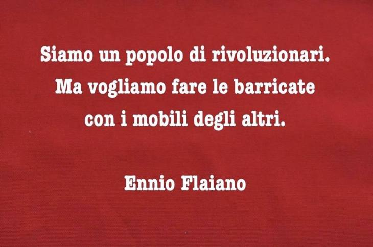 Flaiano docet